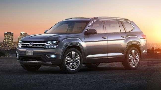 Названі терміни початку російських продажів кросовера Volkswagen Teramont