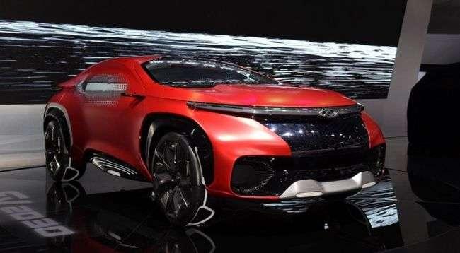 Chery представить нове крос-купе 17 квітня 2017 року