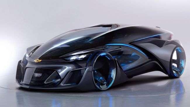 Chevrolet опублікувала перші тизери нового повнопривідного спорткара FNR-X
