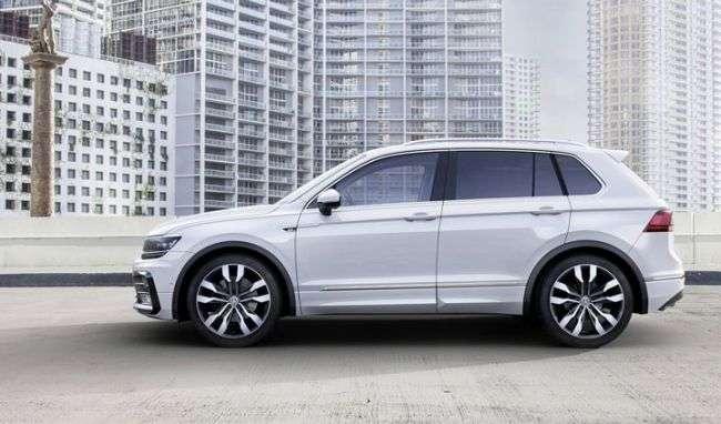 У Росії почалися продажі Volkswagen Tiguan з 150-сильним 1.4 TSI