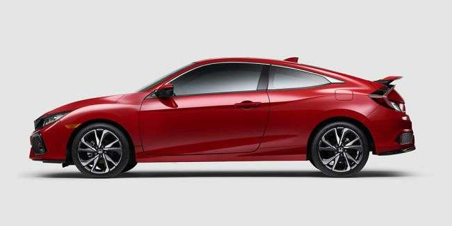 Honda показала новий «підігрітий» Civic