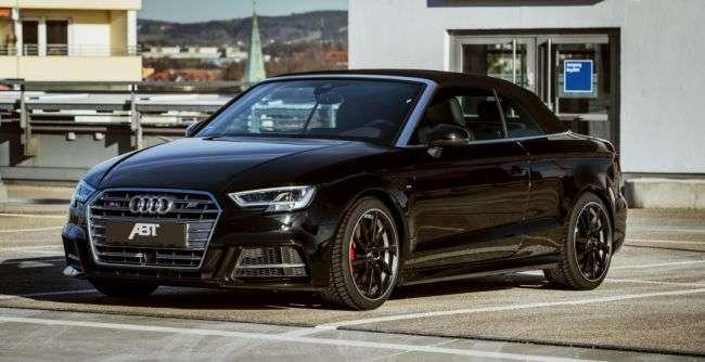 ABT Sportsline підготували шикарний 400-сильний Audi S3 Cabriolet