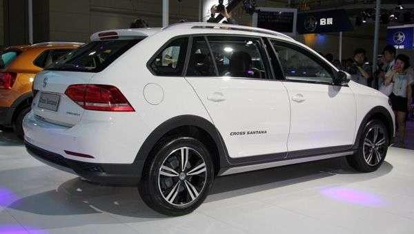 Volkswagen в Китаї оголосив про продажі оновленого Cross Santana