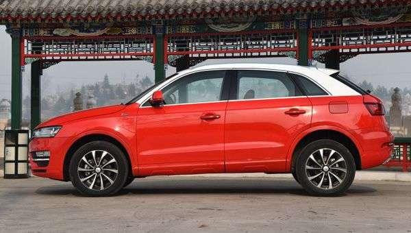 Китайський двійник Audi Q3 отримав спецверсію з обробкою з золота і аметистів