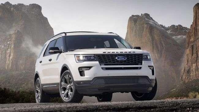 Компанія Ford оновила свій позашляховик «Explorer» 2018
