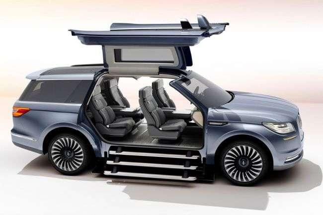 Зявилося перше зображення нового концептуального позашляховика Lincoln Navigator