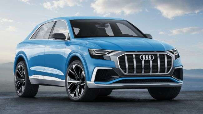 Офіційно розсекречено плани по виробництву нових Audi Q8 і Q4