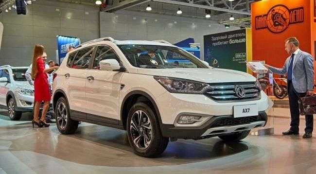 Кросовер Dongfeng AX7 отримав сертифікат для продажу в Росії
