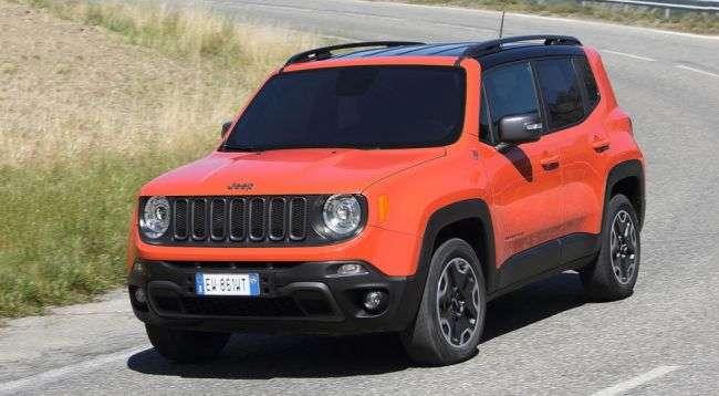 Названа ціна на нові комплектації Jeep Renegade в Росії