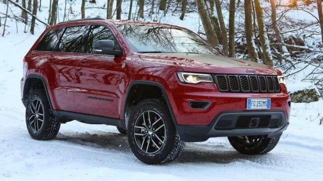 Новий 717-сильний Jeep Grand Cherokee приїде в Росію