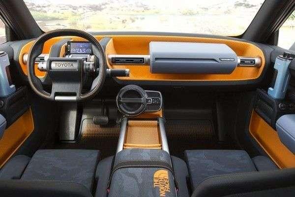Розсекречений незвичайний концептуальний позашляховик Toyota FT-4X