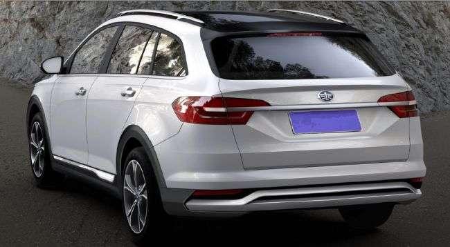 Китайська FAW створила крос-універсал в стилі Volkswagen