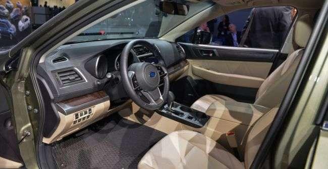 У Нью-Йорку показали перший у світі спорт-універсал Subaru Outback 2018