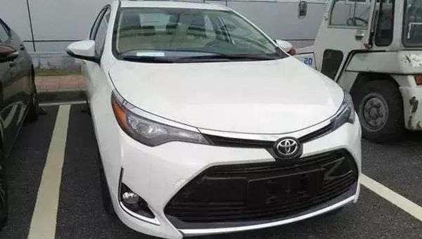 У Шанхаї покажуть новий Toyota Levin 2018 модельного року