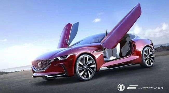 Спорткар MG дебютував на офіційних зображеннях