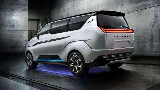 Представлений новий концептуальний електричний мінівен Iconiq 7 від компанії Iconiq Motors