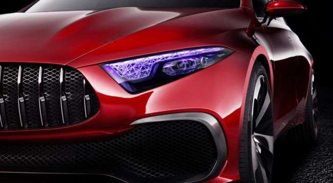 Mercedes-Benz показав прототип нового компактного седана A-Class