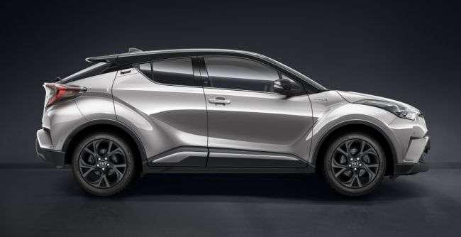 У Великобританії стартували продажі нової версії Toyota C-HR