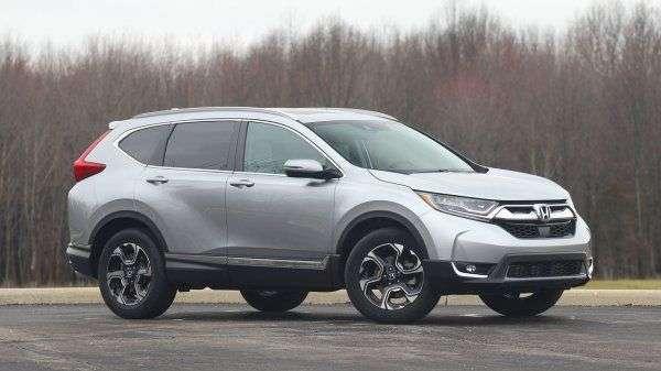 Honda представила нову версію кросовера CR-V 2018