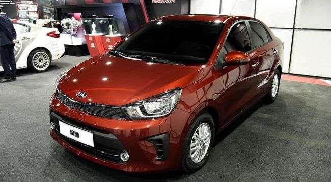 Kia представила новий бюджетний седан Kia Pegas