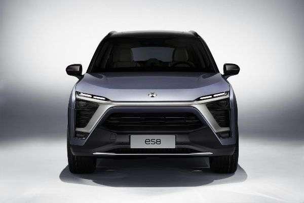 Китайський бренд Nio презентував алюмінієвий семимісцевий кросовер ES8