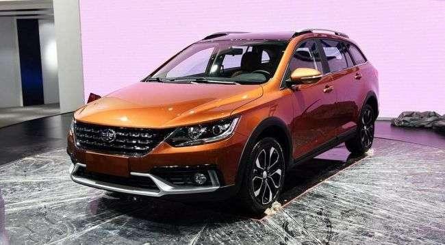 Китайська FAW презентувала седан і універсал підвищеної прохідності в стилі Volkswagen