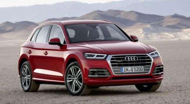 Audi назвала російські ціни на Q5 нового покоління