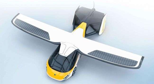 На автошоу в Монако відбулася премєра літаючого автомобіля AeroMobil