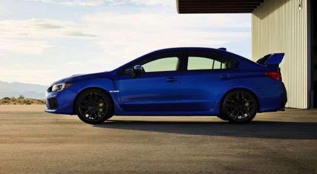 Subaru оголосила ціни на оновлені WRX і WRX STI 2018 модельного року
