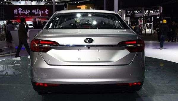 FAW в Шанхаї показала новий седан на базі Volkswagen Jetta