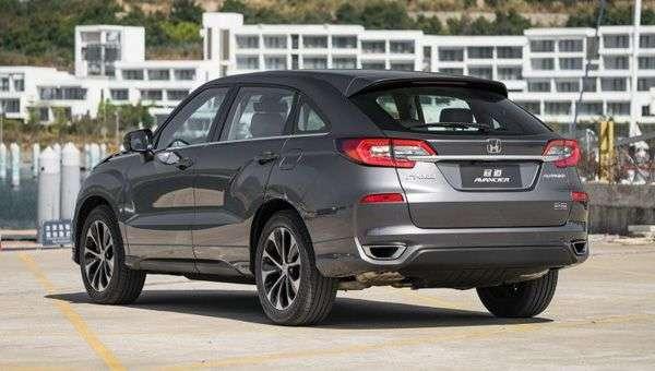 Названі ціни оновленого крос-купе Honda Avancier