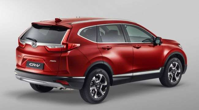 Новий Honda CR-V почали збирати в США для Росії