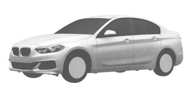 Компактний BMW 1-Series Sedan був запатентований в Росії