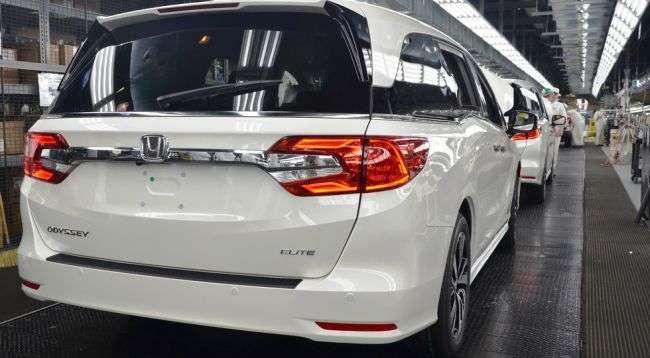 У США стартувало серійне виробництво нового покоління Honda Odyssey