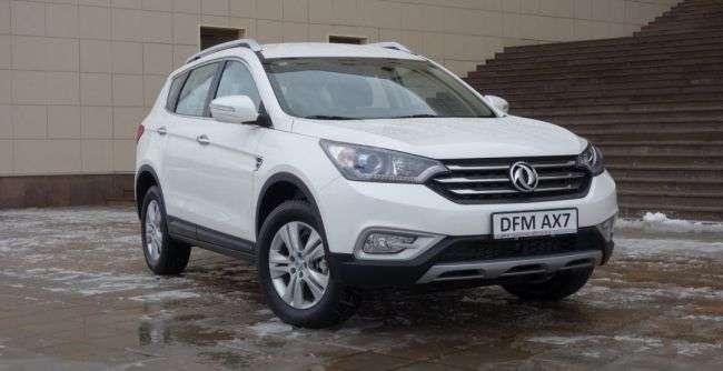DFM AX7 в Росії отримав сертифікат для продажу