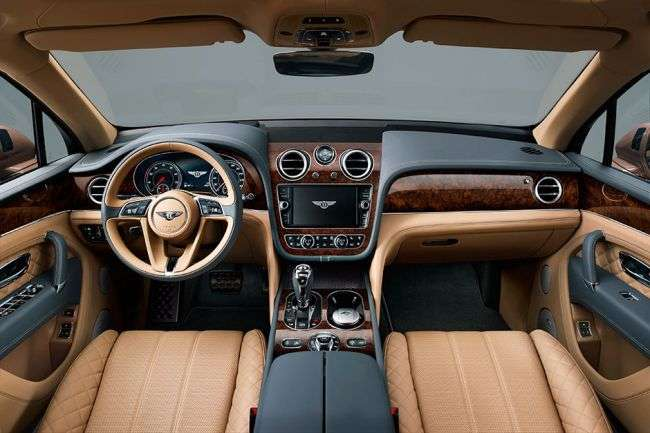 У Росії Bentley представить найшвидший дизельний позашляховик у світі