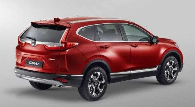 Оголошені комплектації нового покоління кросовера Honda CR-V для Росії