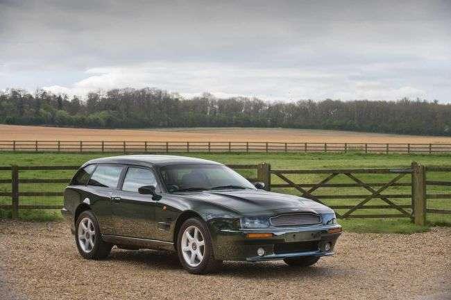 На продаж виставлено Aston Martin, перероблений з купе в універсал