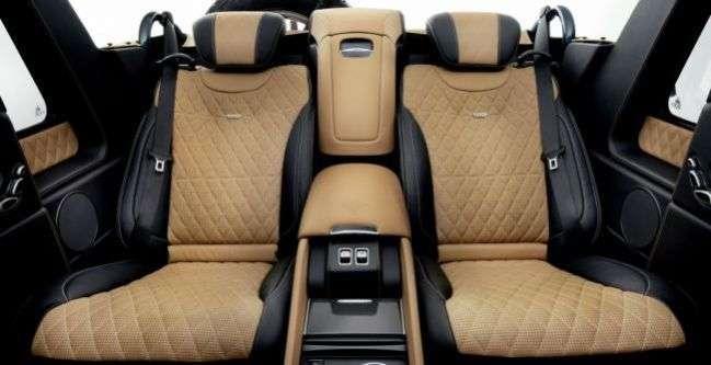Новий кросовер Mercedes-Maybach: перші подробиці розкішної моделі