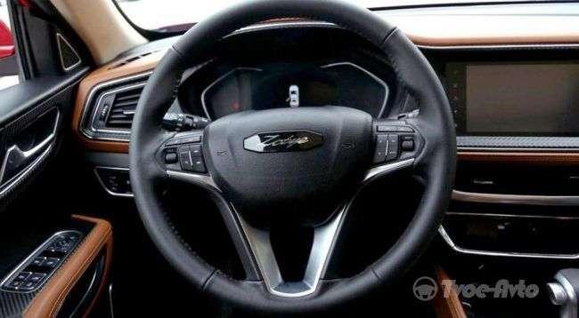 Продаж оновленого кросовера Zotye T300 почнуться в травні