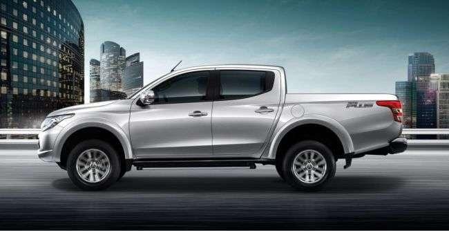 Mitsubishi випустить новий пікап і новий седан