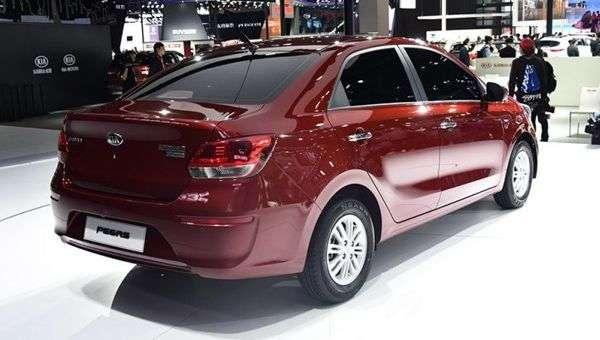 Бюджетний седан Kia Pegas зявиться у продажу в серпні