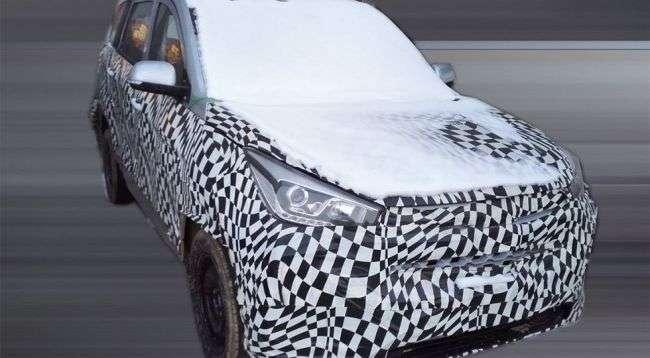 General Motors і SAIC готують новий 7-місцевий кросовер