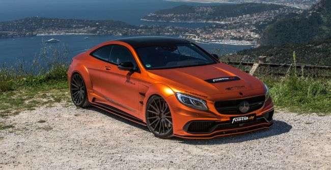 Тюнери трьох ательє створили 740-сильне купе Mercedes-AMG S 63 Combat Monster