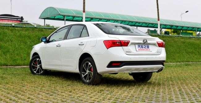 Стартує продаж оновленого седана Zotye Z360