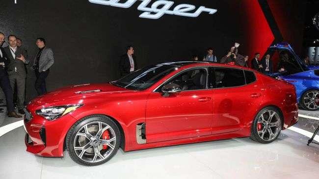 Спортивний автомобіль Kia Stinger став доступний для покупки