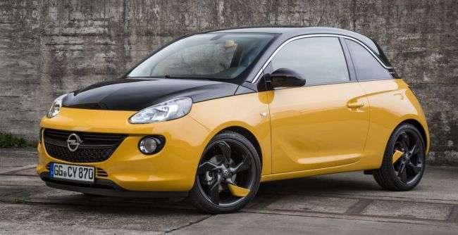 Opel презентував «особливий» хетчбек Adam Black Jack