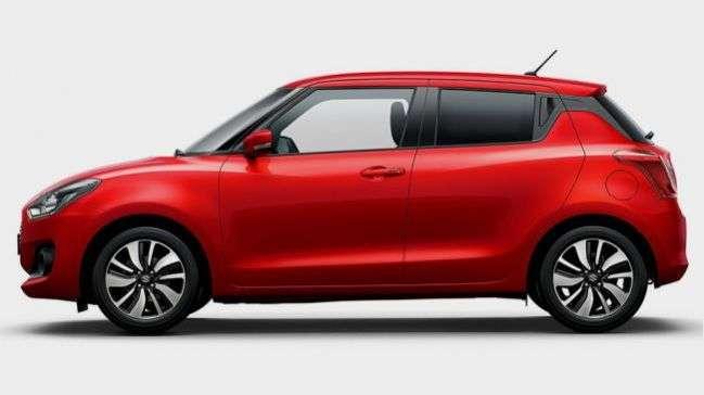 Британський підрозділ Suzuki оголосила про старт продажів нового покоління Suzuki Swift