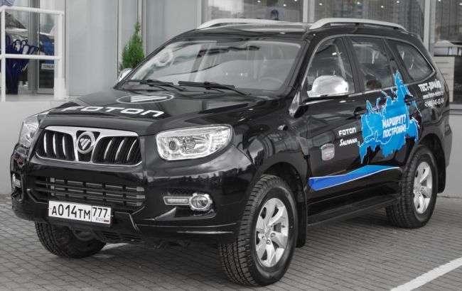 Позашляховик «Foton Sauvana» виходить на російський ринок