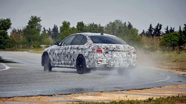 Нова BMW M5 отримає 600-сильний мотор і повний привід «Mxdrive»